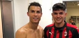 Zdjęcie Ronaldo rozbawiło internautów do łez. Wszystko przez bohatera drugiego planu