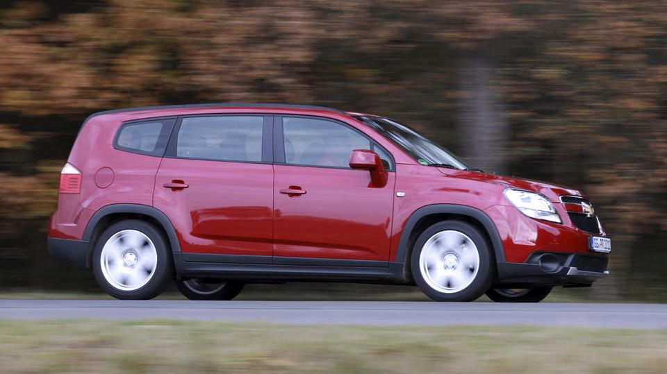 Inne rodzaje Tańsza wersja Zafiry - sprawdzamy Chevroleta Orlando XO47