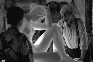 'Artysta i modelka': Studium niemocy