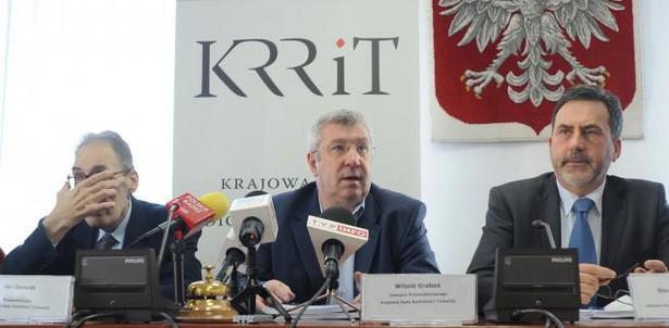 Konferencja prasowa KRRiT