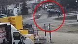 Groźny wypadek w Opolu. Siła uderzenia była ogromna! [FILM]