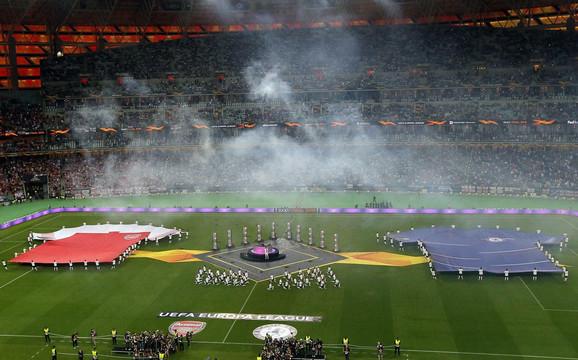 Predstavljanje dva tima pred početak finala Lige Evrope
