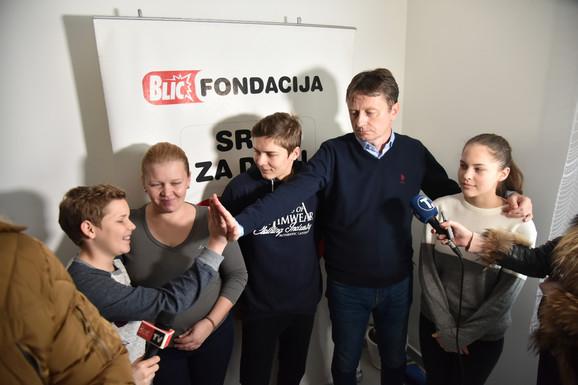 Glišić sa srećnom porodicom Maksimović