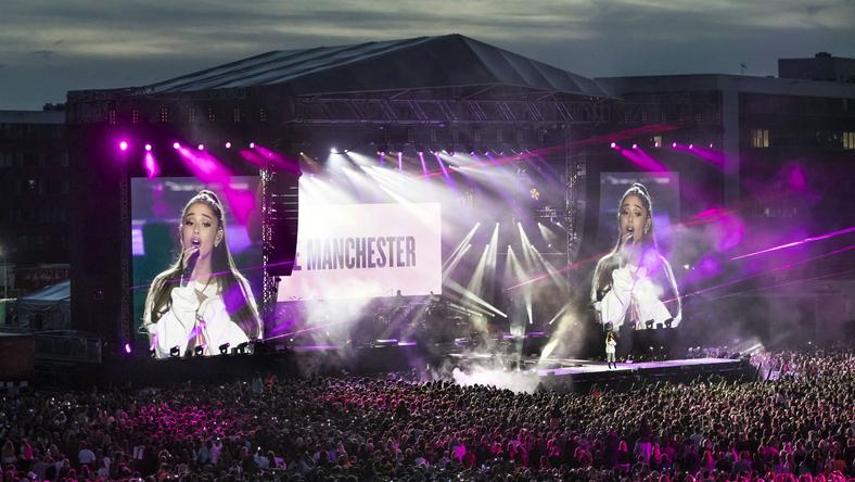 Koncert Ariany Grande w Manchesterze dla ofiar ataku terrorystycznego