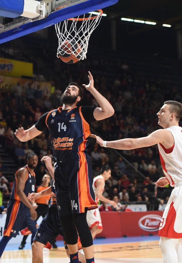 Dubljević i Valensija su prošle sezone gostovali u Beogradu, pošto su igrali protiv Zvezde