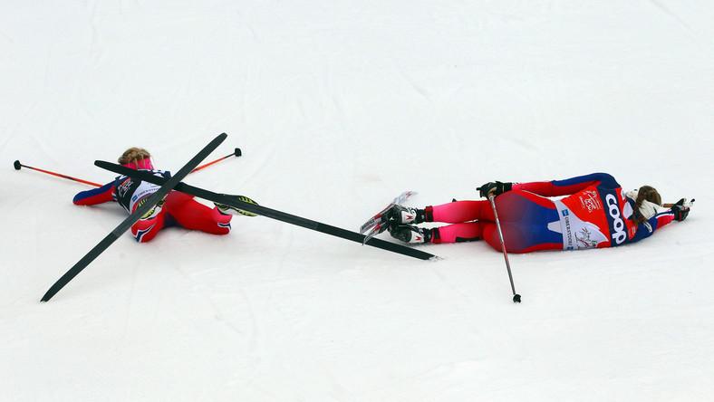 Ingvild Flugstad Oestberg i Therese Johaug