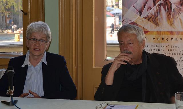Svetlana Belančić i Slobodan Šnajder