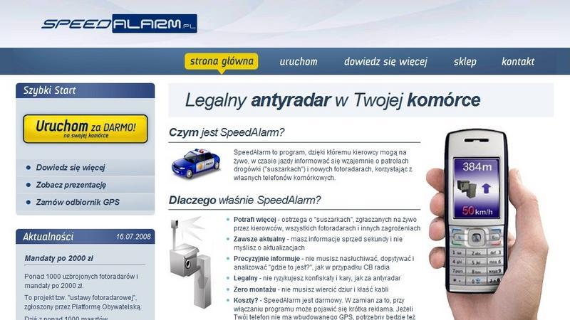 Speedalarm