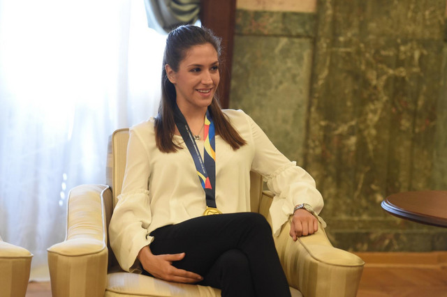 Vanja Stanković na prijemu kod predsednka Republike Srbije