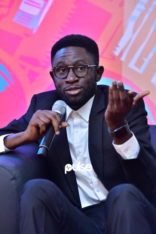 Osagie Alonge, Head of Editorial, Pulse Africa, Echo Music Conference 2019. (Pulse Nigeria)