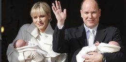 Księżna Monako pokazała bliźniaki