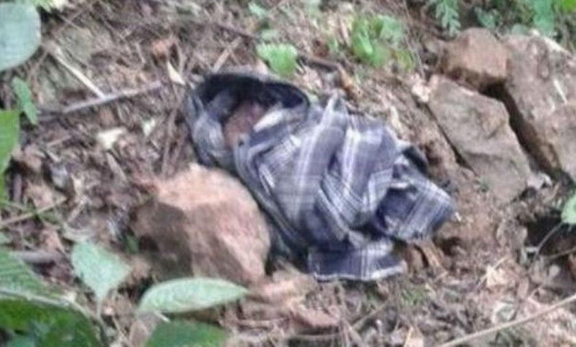 Meksyk. Matka zakopała żywcem noworodka pod stosem kamieni
