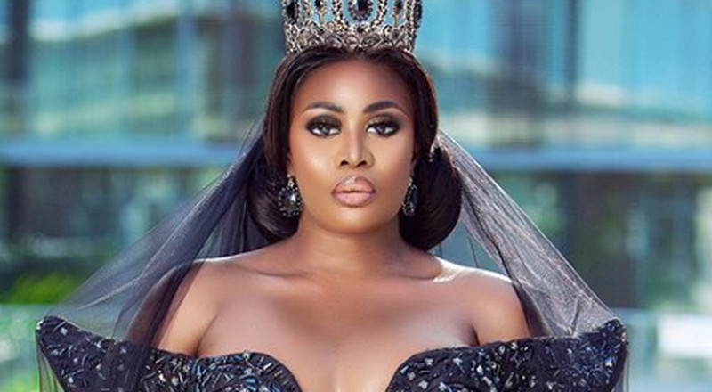 EMY Africa Awards: Nana Akua Addo on the red carpet with her fairy tale Cinderella gown was just stunning