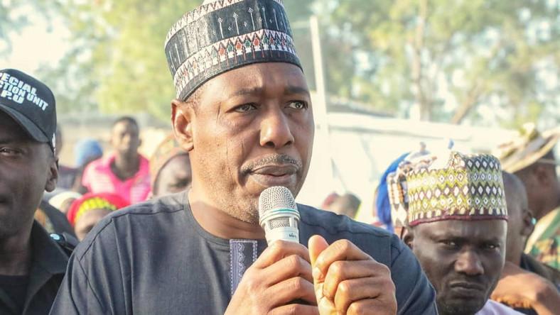 Borno state Governor, Babagana Umara Zulum. [Twitter/@ProfZulum]