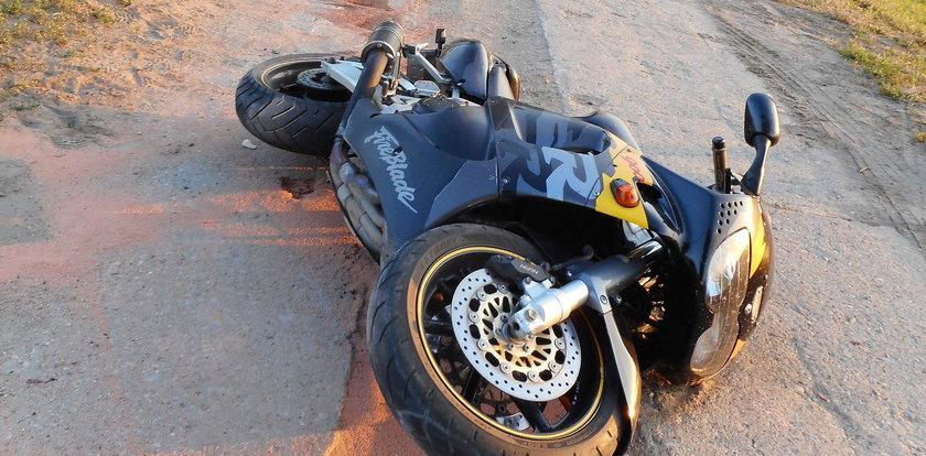 Tragedia na Podkarpaciu. Ojciec jechał z synem na motocyklu. Obaj zginęli