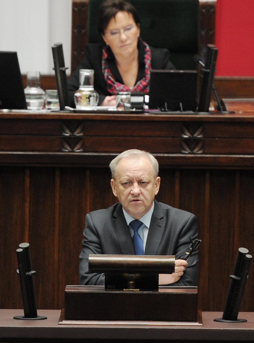 Bolesław Piecha w cud nie wierzy