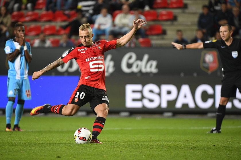 Kamil Grosicki zanotował genialny powrót do Stade Rennais!