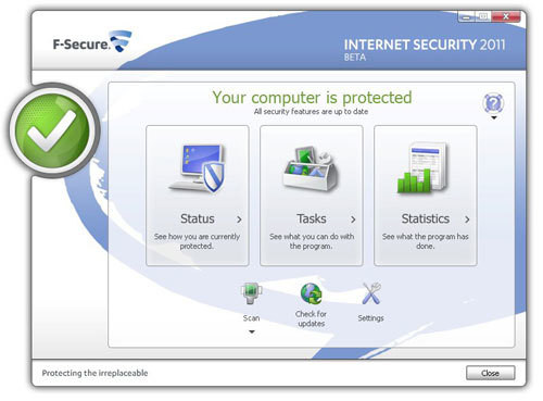 F-Secure Internet Security 2011 Beta