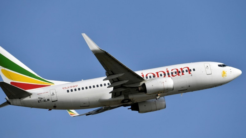 Ethiopian Airlines, with more than 100 aircraft, is the largest in Africa. Pictured here: a Boeing 737-700 aircraft taking off in November 2018