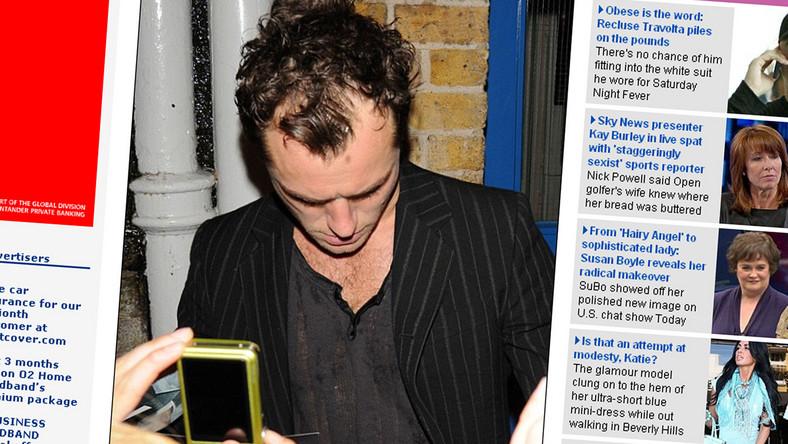 Jude Law łysieje!