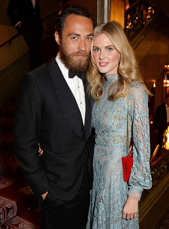 James Middleton i Donna Air