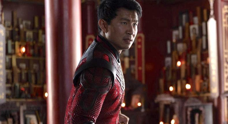 Shang-Chi and the Legend of the Ten Rings.