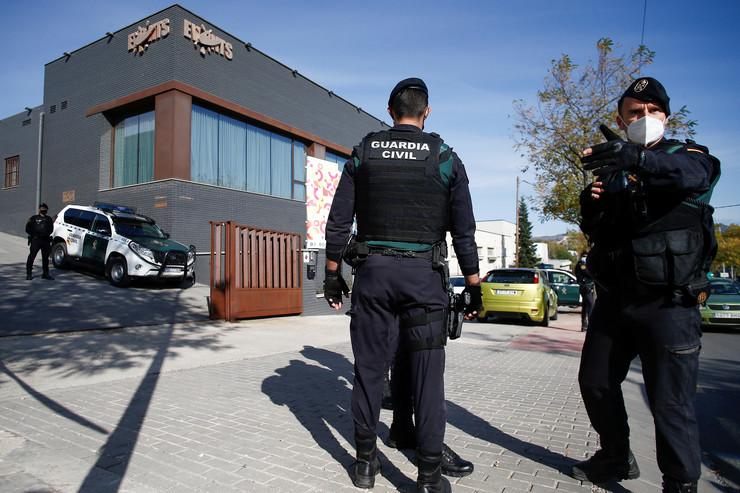 Policija u Barseloni