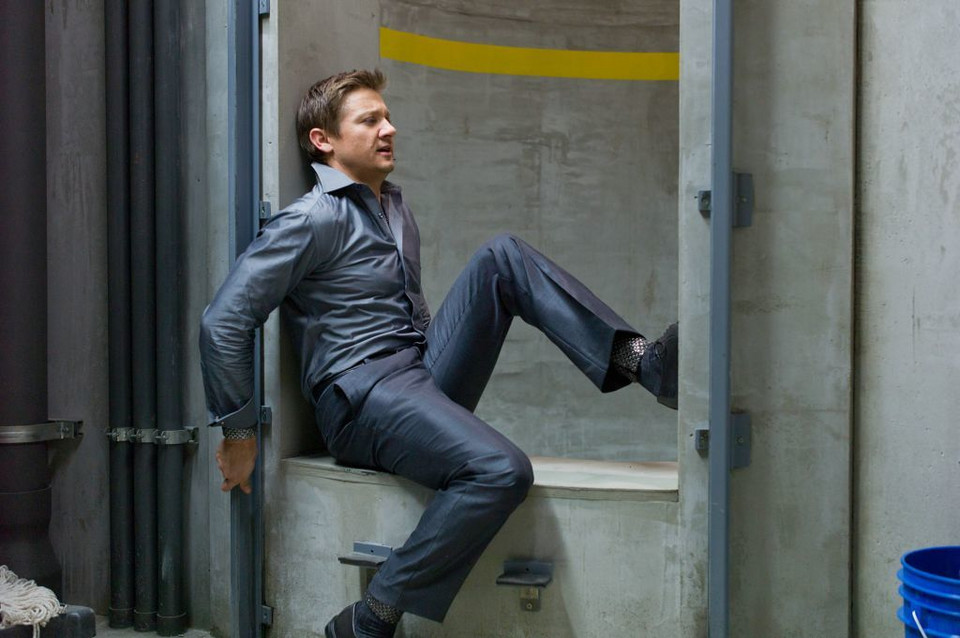 "Jeremy Renner w filmie ""Mission: Impossible - Ghost Protocol"""