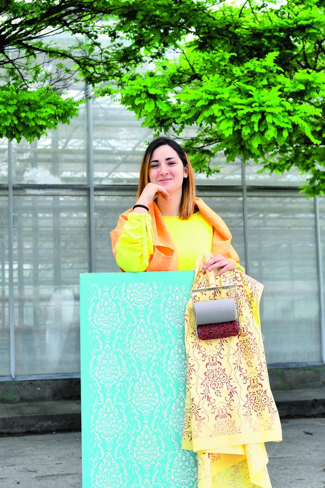 Nataša Šuka oživljava stare valjke za farbanje