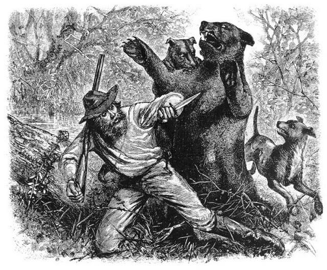 Borba na život i smrt: Hju Glas i medved