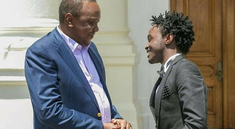 Bahati's open letter to President Uhuru after extending Curfew to March 12