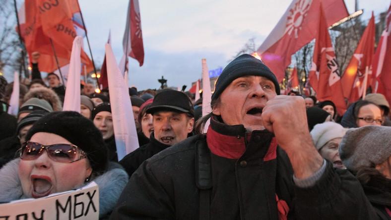 Bunt przeciwko Putinowi w Moskwie