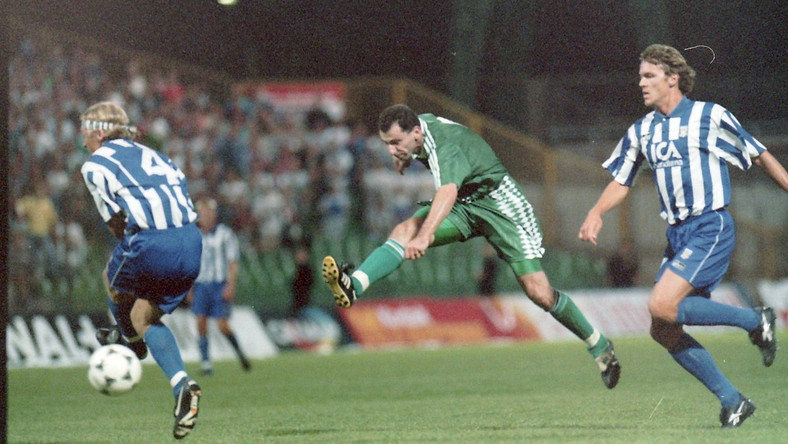 Jerzy Podbrożny w meczu kwalifikacji do LM 1995
