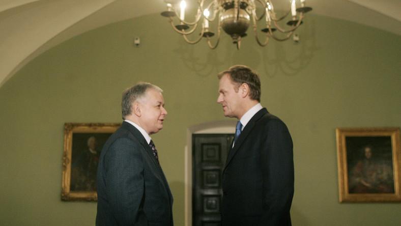Tusk spiera się z prezydentem, który z nich powinien jechać na unijne spotkania w Lizbonie i Brukseli