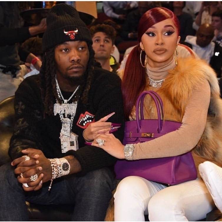According to PageSix, the rapper says she misses her family and is unable to get it on with her husband, Offset. [Instagram/IamCardiB]