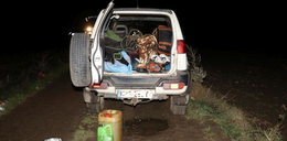 Gangster z Czech złapany w polskim lesie. Miał karabin i biżuterię