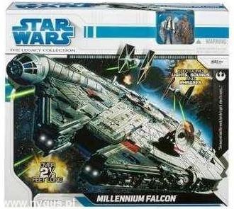 Statek kosmiczny Star Wars Millenium Falcon