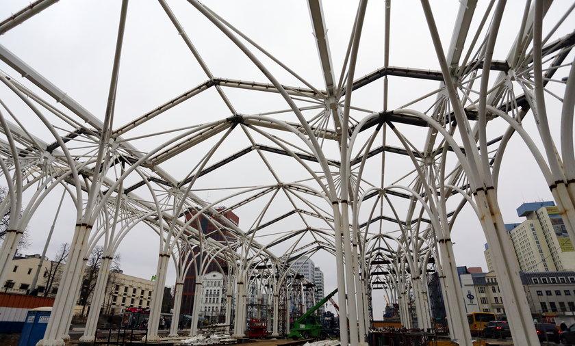 Budowa przystanku piotrkowska centrum