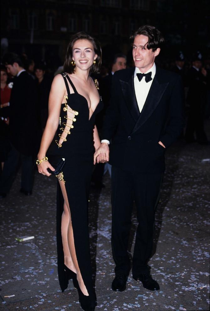 Liz i Hju 1994. u Londonu