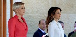 Agata Duda kontra królowa Jordanii. ZDJĘCIA