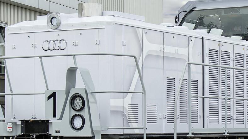 Niemiecki producent poinformował właśnie, że wyprodukowana przez firmę Alstom hybrydowa lokomotywa typu plug-in o mocy 1000 KM, zastąpiła pojazd użytkowany dotychczas w zakładach Audi w Ingolstadt.