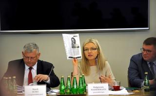 Macierewicz o stenogramach: Syn Tuska 'ochroną' dla Amber Gold