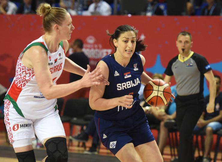 Ženska košarkaška reprezentacija Srbije, Belorusije