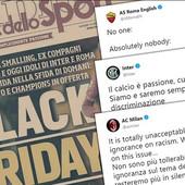 "ODVRATAN SKANDAL TRESE ITALIJU ""Užasno, grozno, neprihvatljivo!"" Milan, Roma i Inter USTALI PROTIV šokantne naslovne strane"