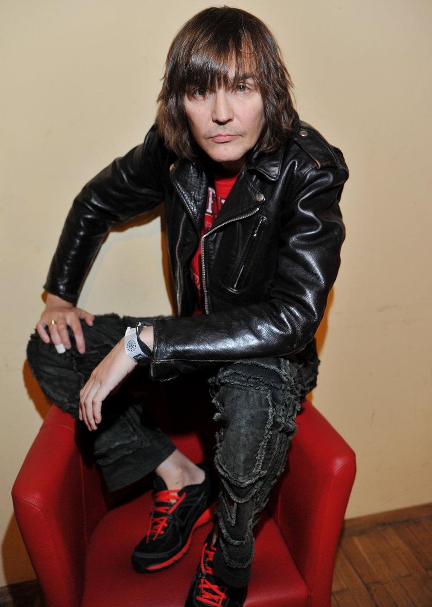 Robert Gawliński w październiku 2011 roku