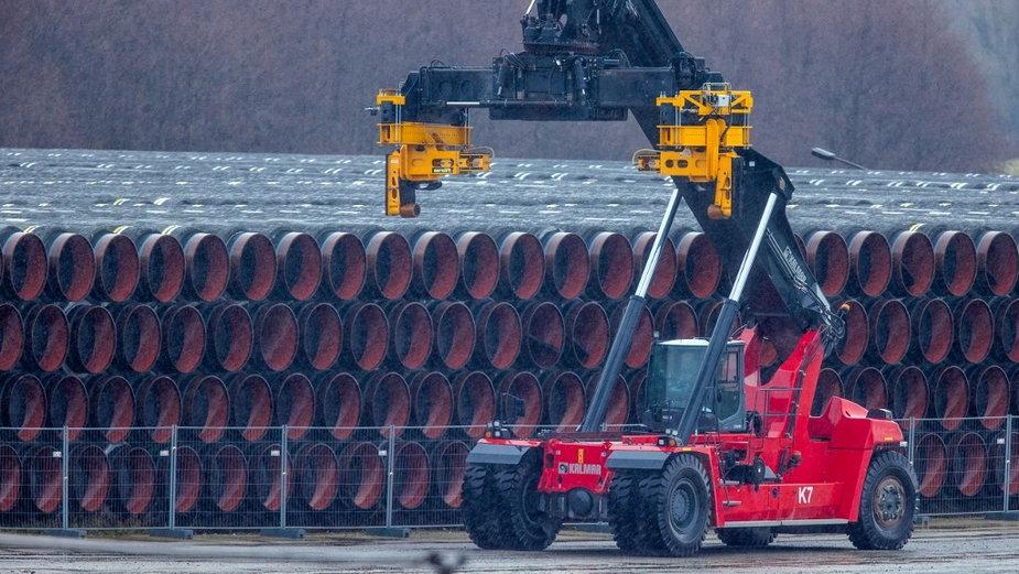 Rury projektu Nord Stream 2