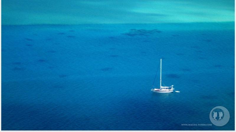 Jacht, na którym płynęła Magda Bogusz wraz z mężem