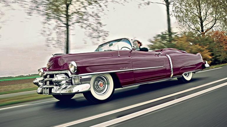 Cadillac 62 Eldorado Sport Convertible - złote cabrio