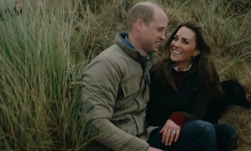 Kate Middleton i książę William na rodzinnym nagraniu