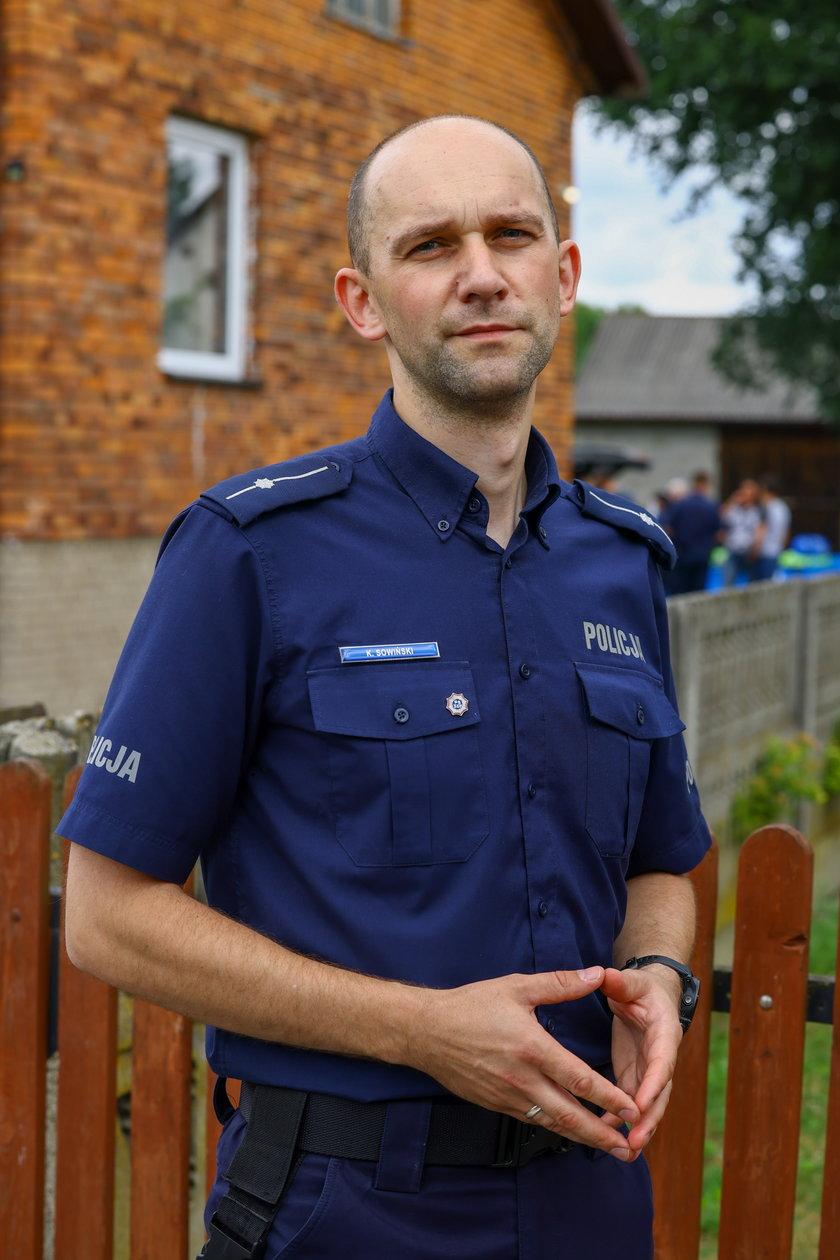 Częstochowska policja poszukuje sprawcy tragedii